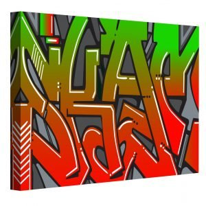Bow Graffiti Art Prints